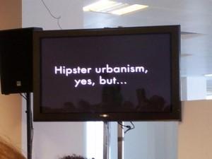 hipster urbanism