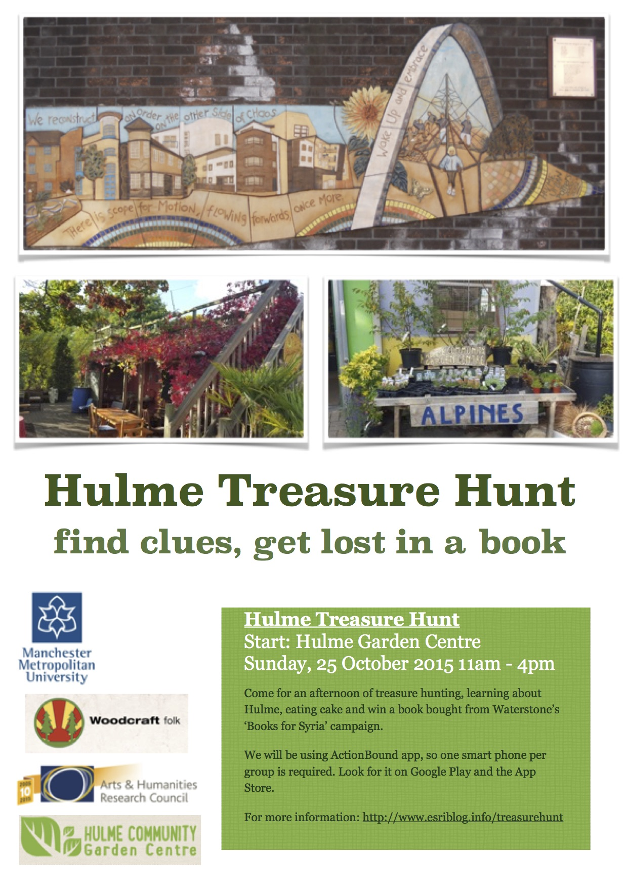 Hulme Treasure Hunt